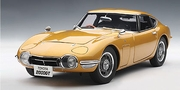 TOYOTA 2000 GT COUPE (UPGRADED) - GOLD (78749)