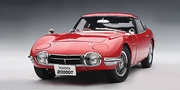 TOYOTA 2000 GT COUPE (UPGRADED) - RED (78746)