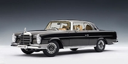 MERCEDES -BENZ 280 SE COUPE 1968 - BLACK (76286)