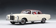 MERCEDES-BENZ 280SE COUPE 1968 - WHITE/RED ROOF (76287)