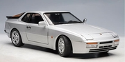 Porsche 944 Turbo 1985 - Crystal Silver Metallic (77956)