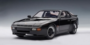 PORSCHE 924 CARRERA GT 1980 - BLACK (78001)