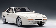 PORSCHE 944 TURBO 1985 - ALPINE WHITE (77958)