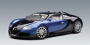 BUGATTI EB 16.4 VEYRON PRODUCTION CAR - BLACK BLUE METALLIC / BLUE METALLIC (70907)