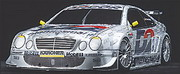 Body Mercedes CLK-DTM (7249)