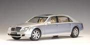 MAYBACH 62 LWB (NAYARIT SILVER / COTED AZUR BLUE BRIGHT) (C) (76163)