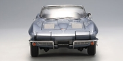 CHEVROLET CORVETTE 1963 CONVERTIBLE - SILVER BLUE (71192)
