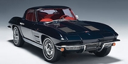 CHEVROLET CORVETTE 1963 COUPE - DAYTONA BLUE (71181)