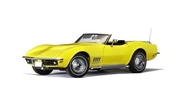 CHEVROLET CORVETTE 1969 (DAYTONA YELLOW) (LIMITED EDITION 6,000PCS WORLDWIDE) (71161)