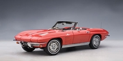 CHEVROLET CORVETTE 1963 CONVERTIBLE - RIVERSIDE RED (71191)