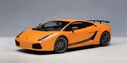 LAMBORGHINI GALLARDO SUPERLEGGERA - BOREALIS / METALLIC ORANGE (74581)