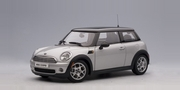 MINI COOPER 2006 (PURE SILVER /BLACK ROOF) (75001)